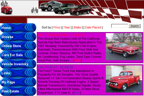 Building Websites For Used Car Dealers